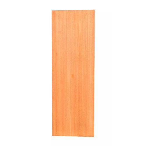 Porta De Madeira Angelim Para Envernizar Em 60cm X 210cm X 3,5cm