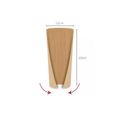 Compensado Flexível 2,50x1,60x0,003mm Coluna