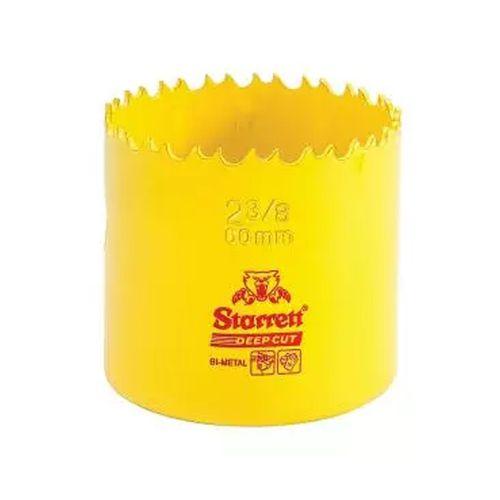 Serra Copo Starret Bimetal 2.3/8 60mm