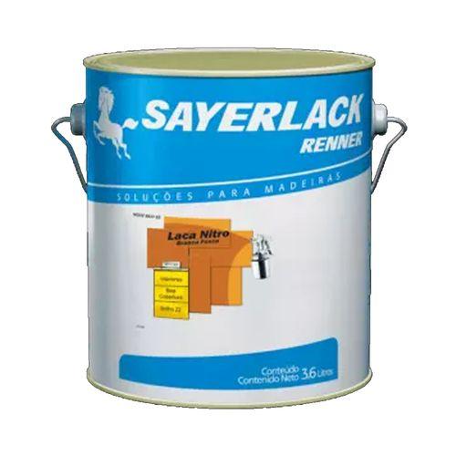 Laca Nitro Sayerlack Fosca Branca 3,6l