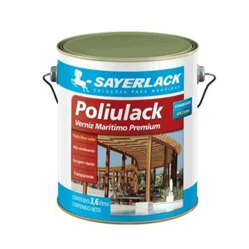 Verniz Poliulack Sayerlack Fosco 3600ml
