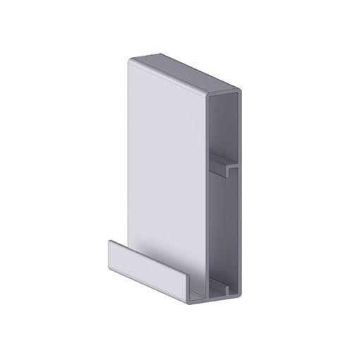 Perfil Puxador Aluminio Alternativa 3170 Com 6 Metros
