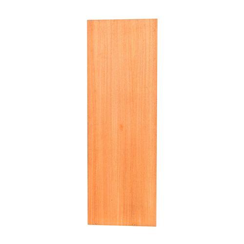 Porta De Madeira Curupixá Para Envernizar Em 60cm X 210cm X 3,5cm