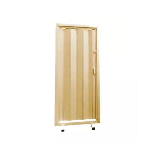 Porta Sanfonada Cerejeira Com Kit 80cm