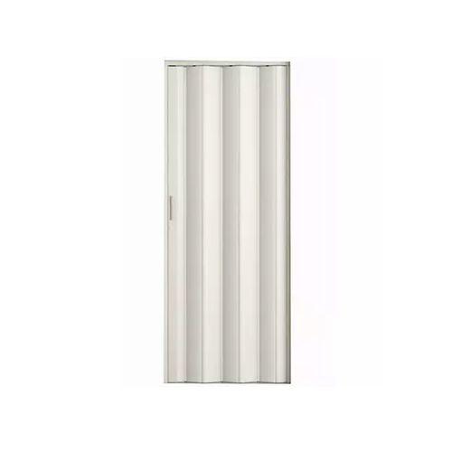Porta Sanfonada Branca Com Kit 80cm