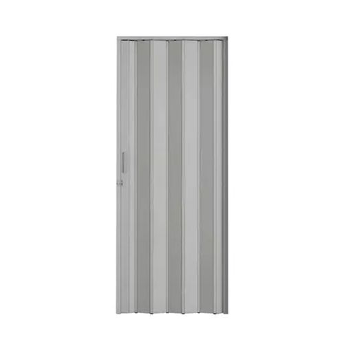 Porta Sanfonada Cinza Com Kit 60cm