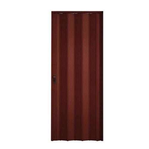 Porta Sanfonada Com Kit Mogno 60cm