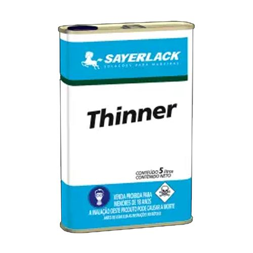 Thinner Para Limpeza Sayerlack 5l