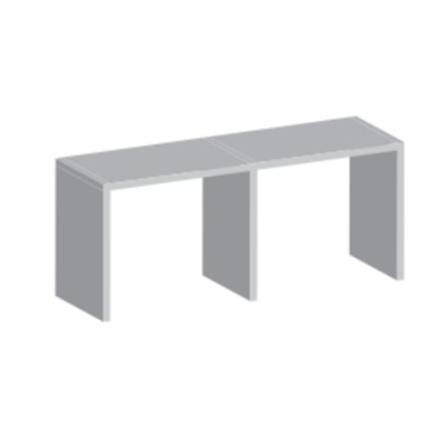 Trilho Superior Aluminio Dm3102j Jateado Anod Com 3m (Cd40)
