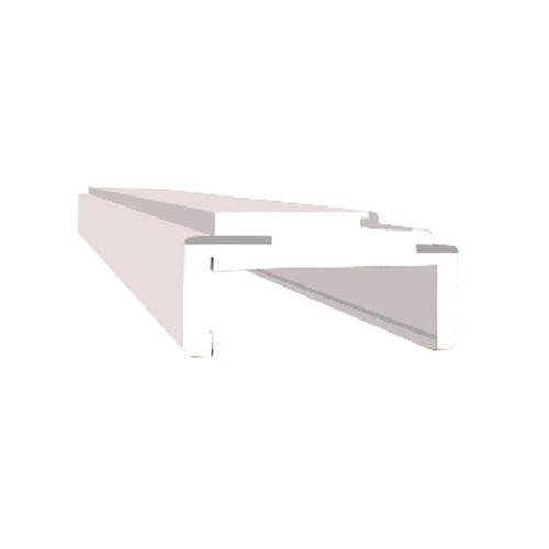 Batente Prime Branco Com Alizar Regulável 16cm
