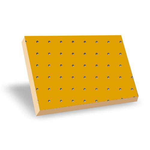 Eucaplac Perfurado Amarelo Gema 1,22cmx64cmx03mm