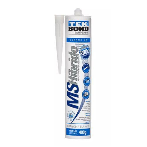 Silicone Ms Hibrido Branco Tekbond