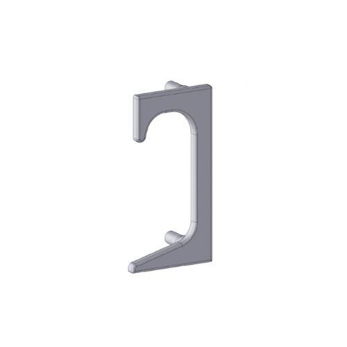 Ponteira 10 Para Perfil Alternativa 4016t Preta (Par)
